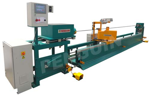 Hose wrapping machine - Flexible hose