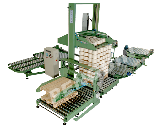 Palletizer for Cone Yarns